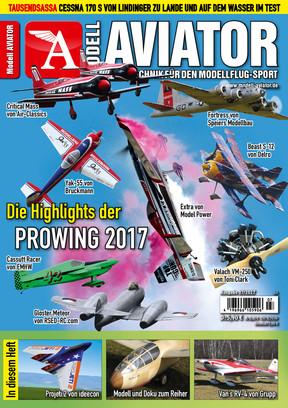 Modell AVIATOR Ausgabe 07/2017
