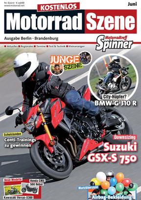 MotorradSzene Spinner 06/17