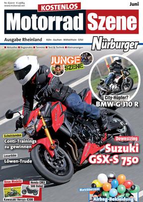 MotorradSzene Nürburger 06/17