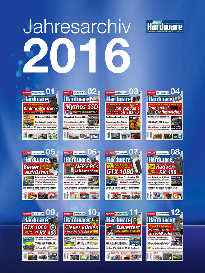 PCGH Jahresarchiv 2016