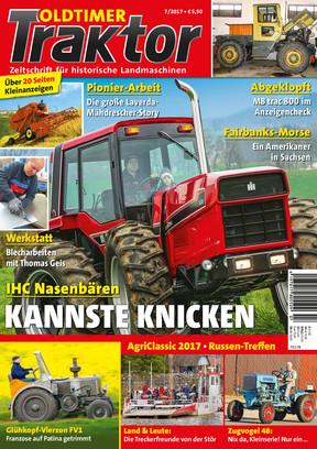 Oldtimer Traktor 7/2017