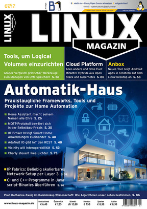 Linux-Magazin 07/2017 Linux Magazin
