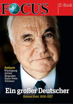 """FOCUS E-Book """"Helmut Kohl 1930 - 2017"""""""