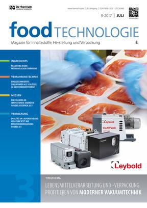 Food Technologie 3/17
