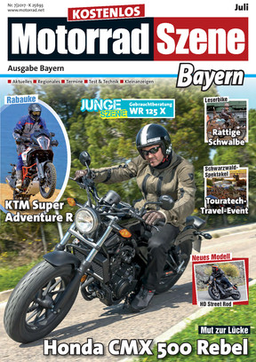 MotorradSzene Bayern 07/17