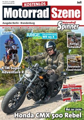 MotorradSzene Spinner 07/17