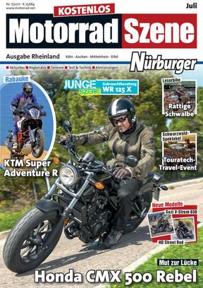 MotorradSzene Nürburger 07/17