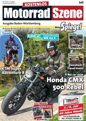 MotorradSzene Spiegel 07/17