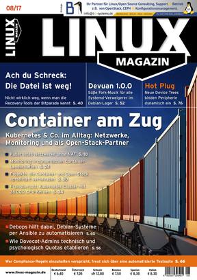 Linux Magazin 08/2017 Linux Magazin