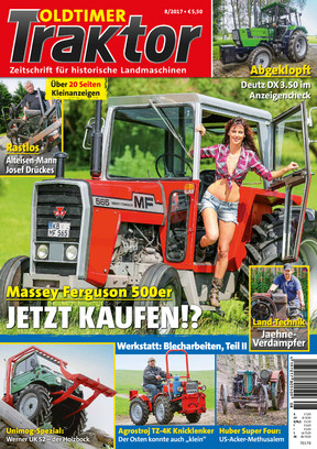 Oldtimer Traktor 8/2017