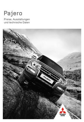 Pajero Preis- / Datenblatt 07/2017