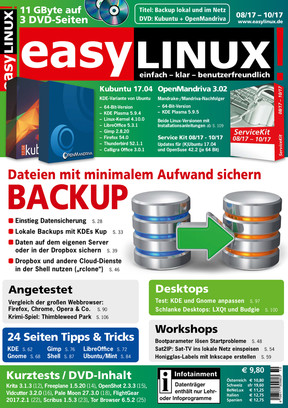 Easy Linux 08/17-10/17