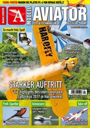 Modell AVIATOR Ausgabe 09/2017