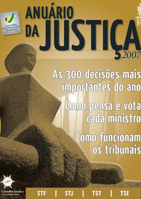 Anuário da Justiça Brasil 2007