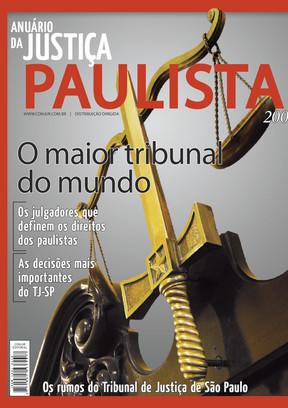 Anuário da Justiça São Paulo 2008