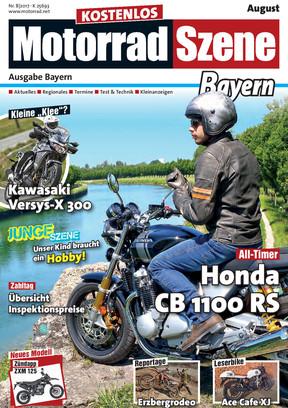 MotorradSzene Bayern 08/17