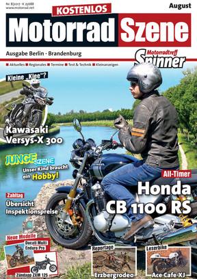 MotorradSzene Spinner 08/17