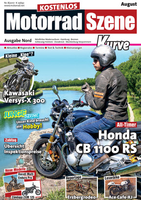 MotorradSzene Kurve 08/17