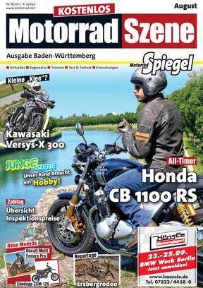 MotorradSzene Spiegel 08/17
