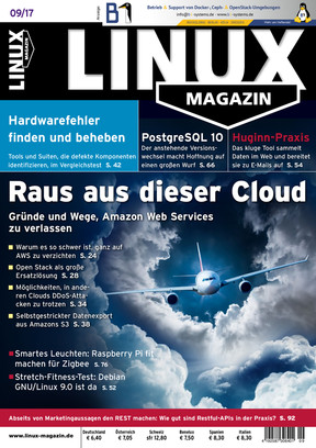 Linux-Magazin 09/2017 Linux Magazin