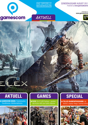 gamescom AKTUELL Sonderausgabe August 2017 GA