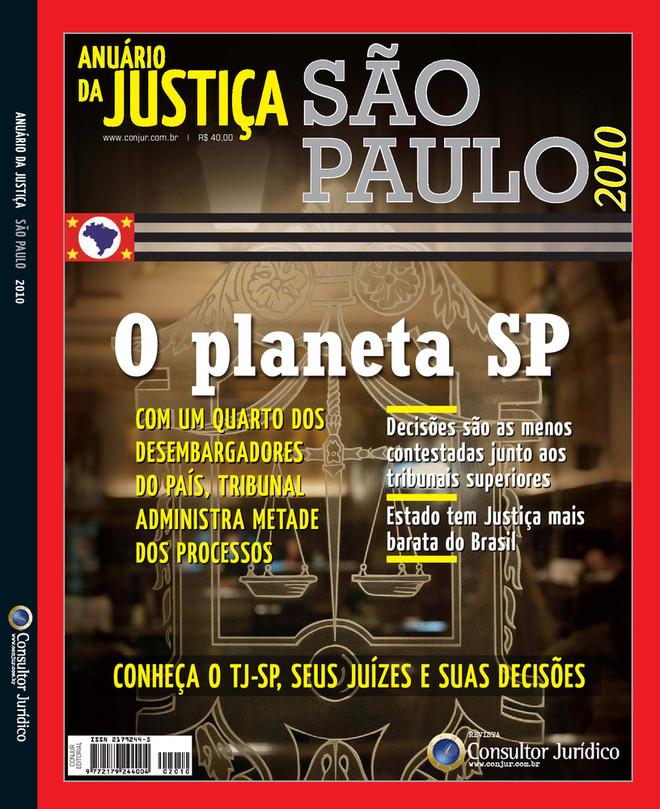 Anuário da Justiça São Paulo 2010