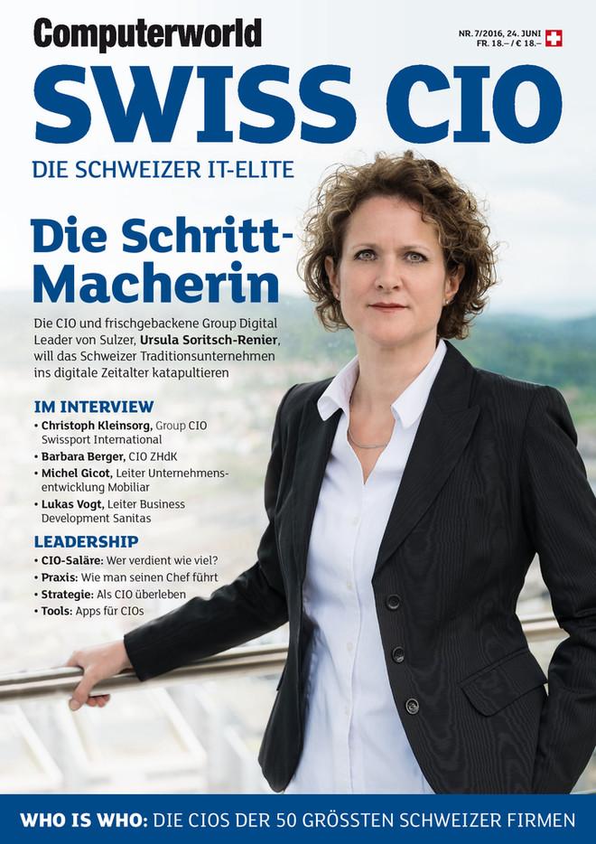 Computerworld 7_2016_Swiss CIO