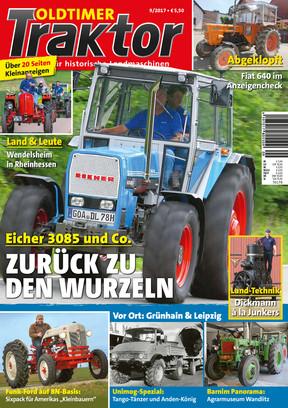 Oldtimer Traktor 9/2017