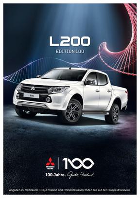 L200 Edition 100 Sondermodellprospekt 08/2017