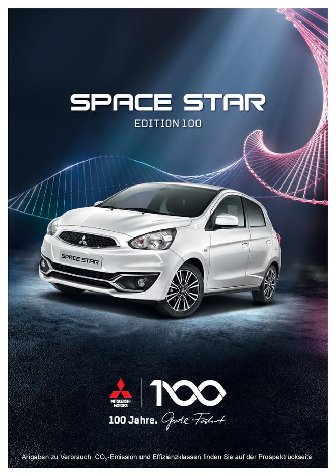 Space Star Edition 100 Sondermodellprospekt 08/2017