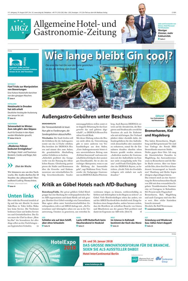 Ausgabe 33 / 2017