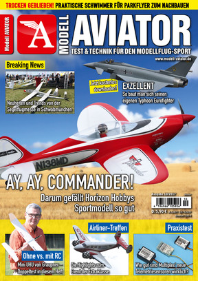 Modell AVIATOR Ausgabe 10/2017