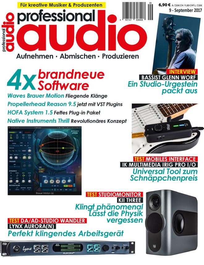 Professional audio 09/2017