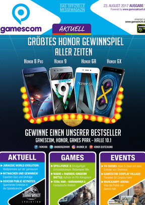 gamescom AKTUELL 01/2017 GA