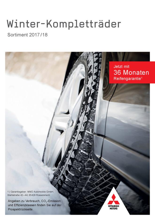 Winter-Kompletträder-Sortiment 2017/18