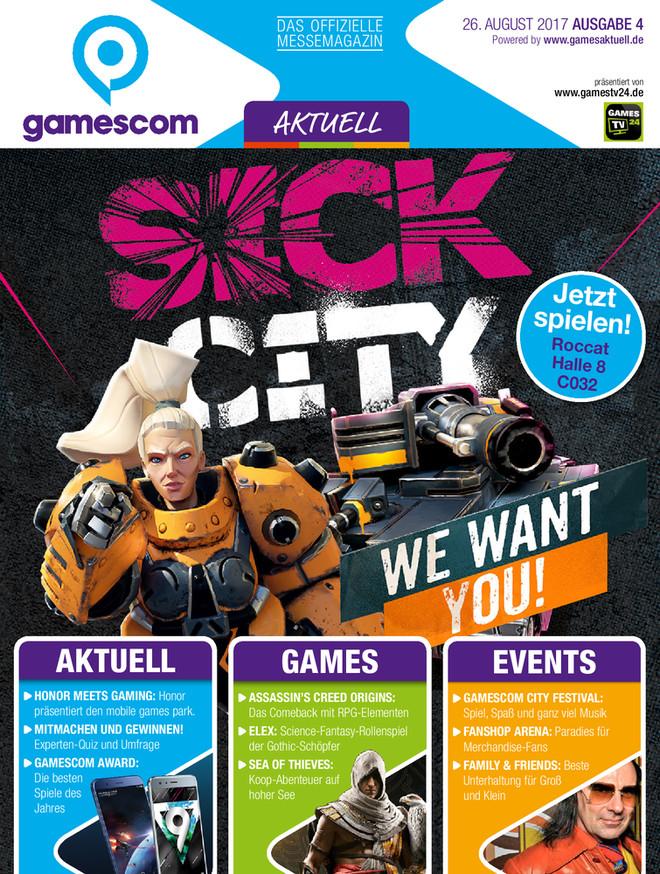 gamescom AKTUELL 04/2017 GA