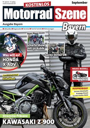 MotorradSzene Bayern 09/17