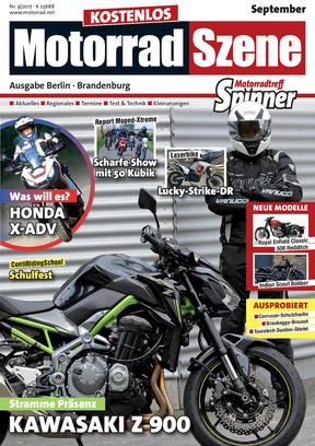 MotorradSzene Spinner 09/17