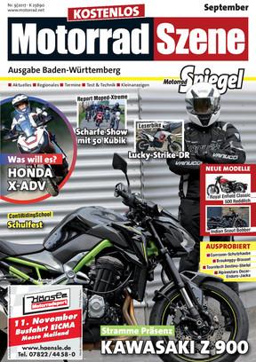 MotorradSzene Spiegel 09/17