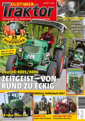 Oldtimer Traktor 10/2017