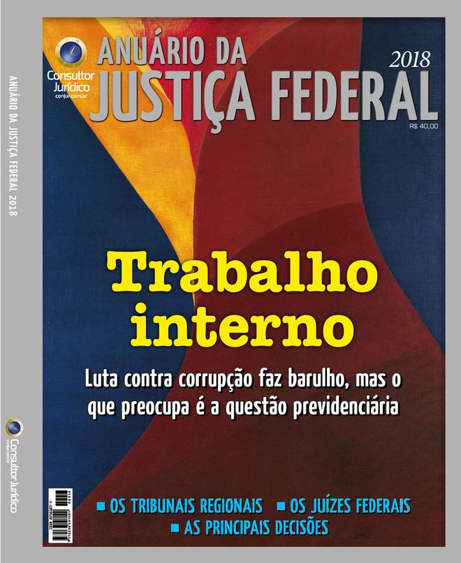Anuário da Justiça Federal 2018