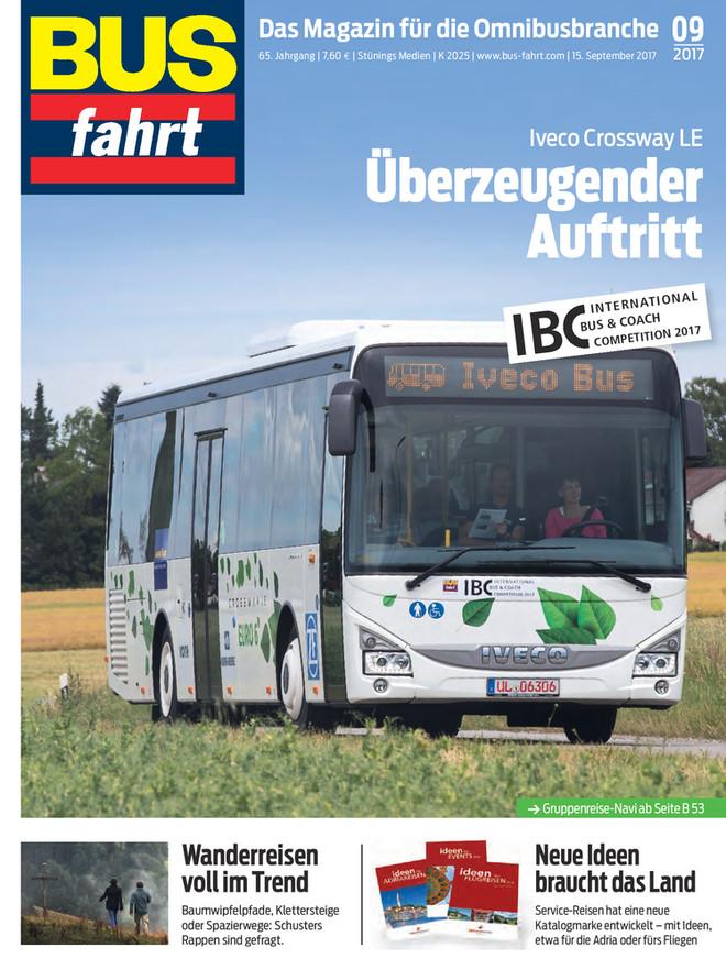 Bus-Fahrt 09/2017