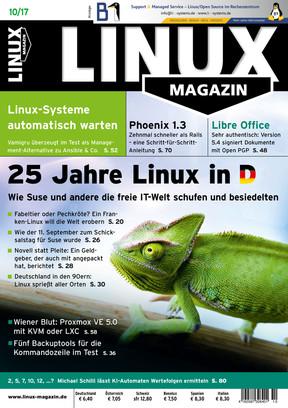Linux-Magazin 10/2017 Linux Magazin