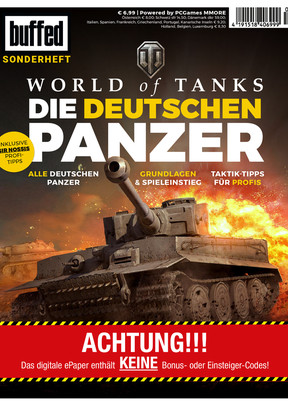 "buffed-Sonderheft ""World of Tanks - Die deutschen Panzer"""
