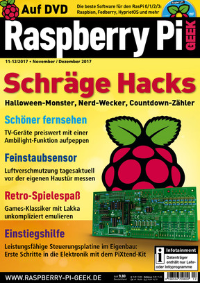 Raspberry Pi Geek 11-12/2017