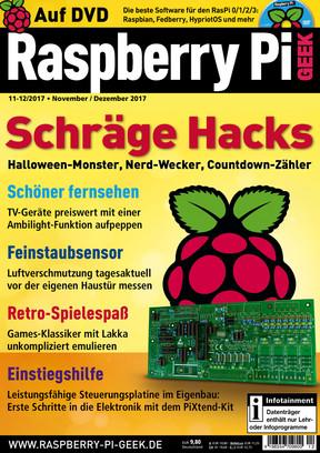 Raspberry Pi Geek 11-12/2017 Raspberry Pi Geek