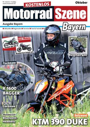 MotorradSzene Bayern 10/17