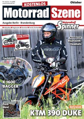 MotorradSzene Spinner 10/17