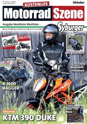 MotorradSzene Syburger 10/17