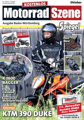 MotorradSzene Spiegel 10/17